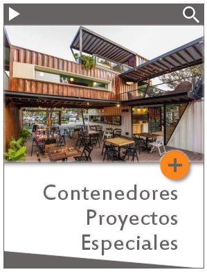 Contenedores Proyectos Especiales