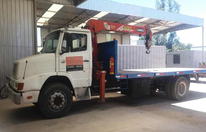Transporte - camión Pluma - Fletes